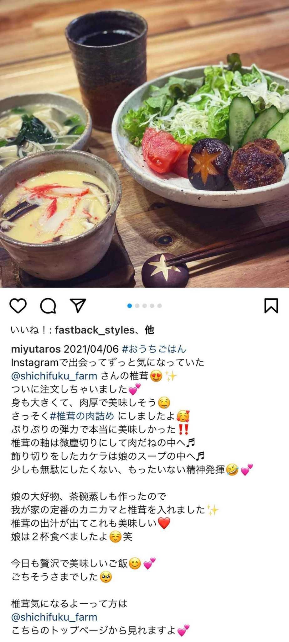 七福ファームの美味しい椎茸(しいたけ)おためしセットの通販